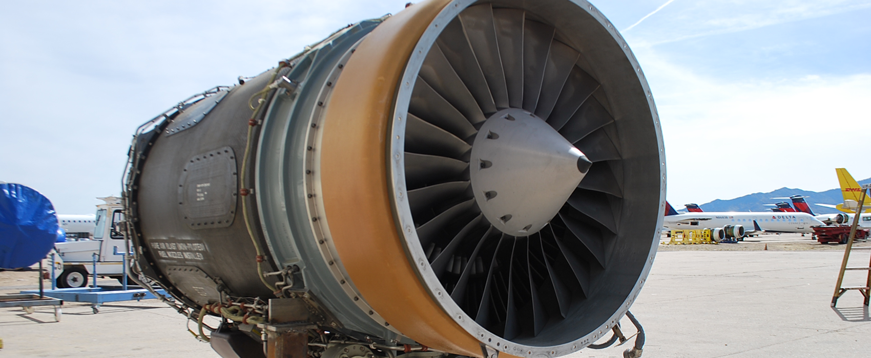 Kingman Aviation Parts Arizona Airport Airplane Tear Down